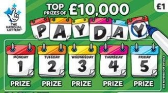 pay day green scratchcard featured image