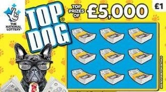 top dog scratchcard featured image