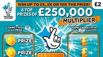 250,000 multiplier scratchcard featured image