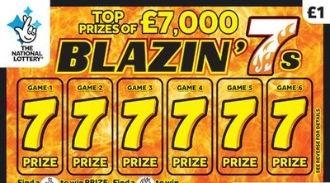 blazin 7s scratchcard featured image