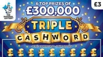 triple cashword blue scratchcard featured image