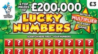 lucky numbers scratchcard featured image