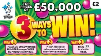 3 Ways to Win scratchcard featured image
