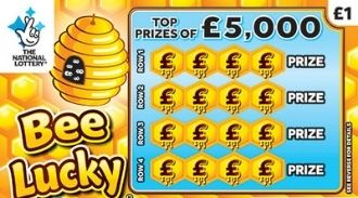 Bee Lucky scratchcard featured image