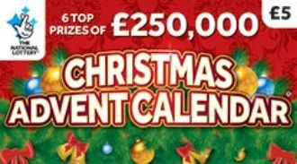 Christmas Advent Calendar 2019 scratchcard featured image