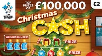 Christmas Cash 2019 scratchcard featured image