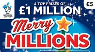 Merry Millions 2019 scratchcard featured image