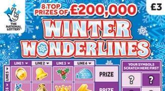 Winter Wonderlines 2019 scratchcard featured image
