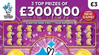 £300,000 Purple scratchcard featured image