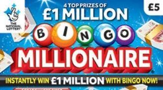 Bingo Millionaire 2019 scratchcard featured image