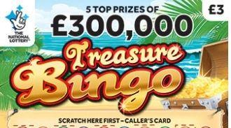 treasure bingo scratchcard featured image