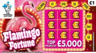 flamingo fortune scratchcard featured image
