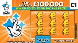 £100,000 Orange scratchcard featured image