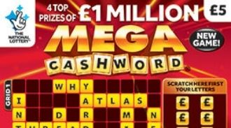 Mega Cashword Red scratchcard featured image