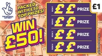 Win £50 scratchcard featured image