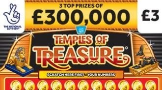temples of treasure Scratchcard featured image