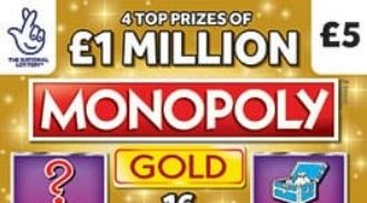 monopoly gold Scratchcard featured image