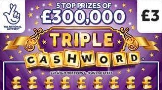 triple cashword purple Scratchcard featured image