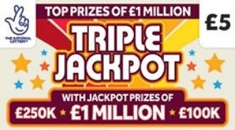 triple jackpot 2020 Scratchcard featured image