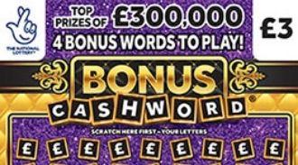 Bonus Cashword Scratchcard featured image