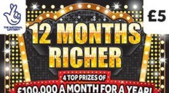 12 months richer scratchcard featured image