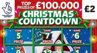 christmas countdown 2020 Scratchcard featured image