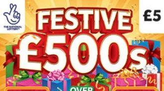 festive £500 scratchcard featured image