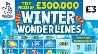 winter wonderlines 2020 scratchcard featured image
