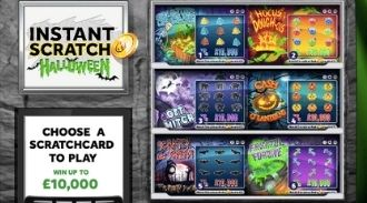 instant scratch halloween instant win featured image