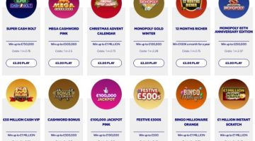 instant wins lotto scratchcards image