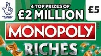 monopoly riches scratchcard featured image