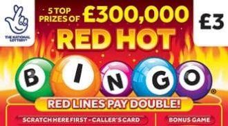 red hot bingo scratchcard thumbnail