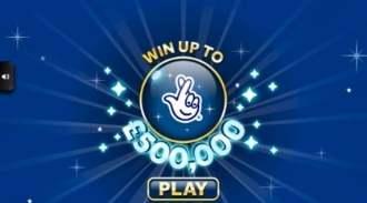 £500,000 Jackpot Blue Online Scratchcard thumbnail