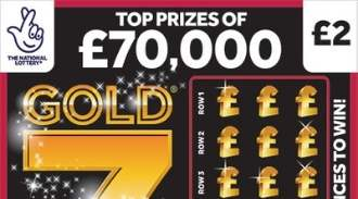 Gold 7s Scratchcard thumbnail
