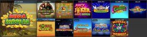 Quinnbet Casino Online Slots Screenshot