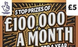 £100,000 a month for a year Scratchcard Featured Image