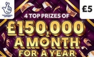 £150,000 a month for a year Scratchcard Featured Image