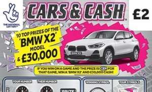 Cars and Cash Scratchcard Featured Image