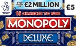 Monopoly Deluxe Scratchcard Featured Image