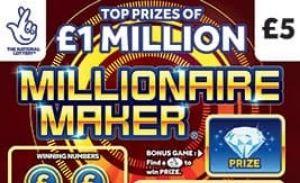 Millionaire Maker Scratchcard Featured Image