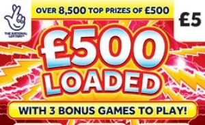 £500 Loaded Scratchcard Featured Image