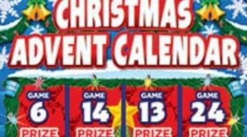 Christmas Advent Calendar 2021 Scratchcard Featured Image