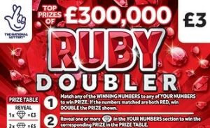 Ruby Doubler Scratchcard Featured Image