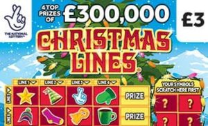 Christmas Lines Scratchcard Featured Image